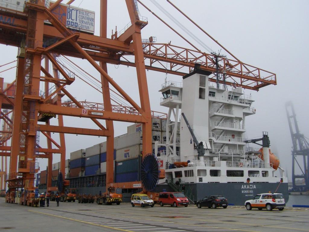 Polens Warenumschlagsmotor, der Hafen Gdynia, Foto: Andrzej Otrebski, CC-BY-SA-3.0