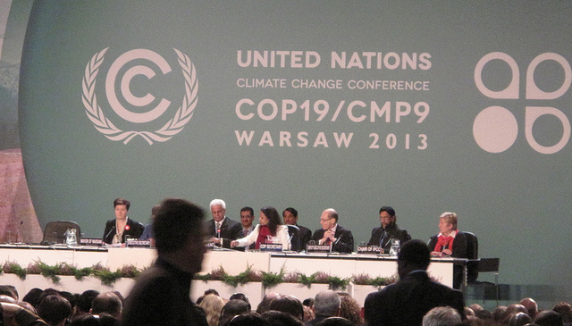 COP 19, Weltklimakonferenz Warschau; Foto: CIDSE-together for global justice, CC BY 2.0