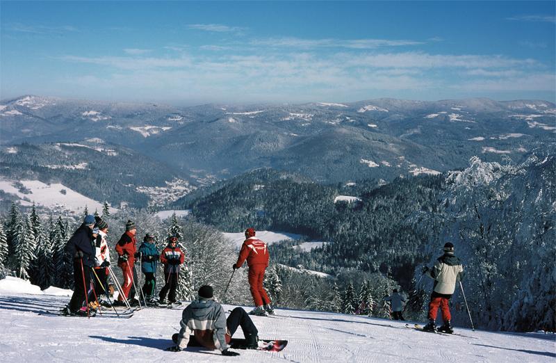 Wintersport in Szczyrk, Foto: Polnisches Fremdenverkehrsamt