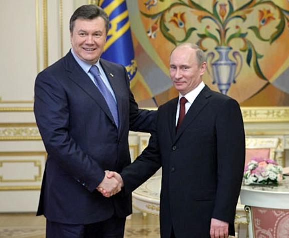 Janukowitsch und Putin, Präsidenten der Ukraine und Russlands, Foto: premier.gov.ru , CC BY- 3.0