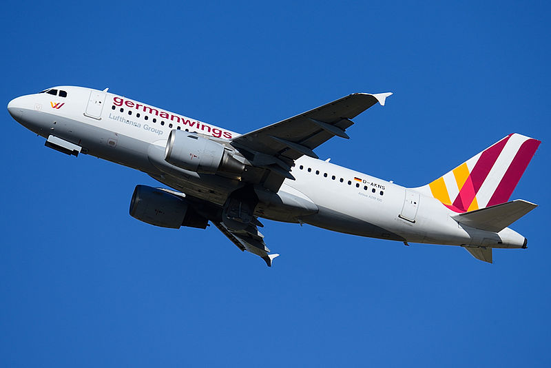 Airbus A319  der Germanwings, Foto: B767Muck