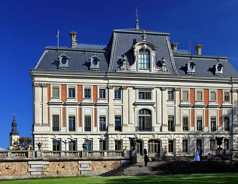 Schloss und Schlossmuseum Pszczyna (Pleß), Foto: Hons084, CC-BY-SA-3.0-PL
