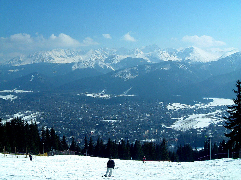Skilaufen in Zakopane, Foto: Micgryga, CC BY-SA 3.0