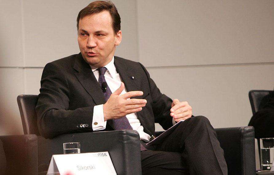 Außenminister Radoslaw Sikorski, Polen; Foto: Images from the Munich Security Conference, Kai Mörk