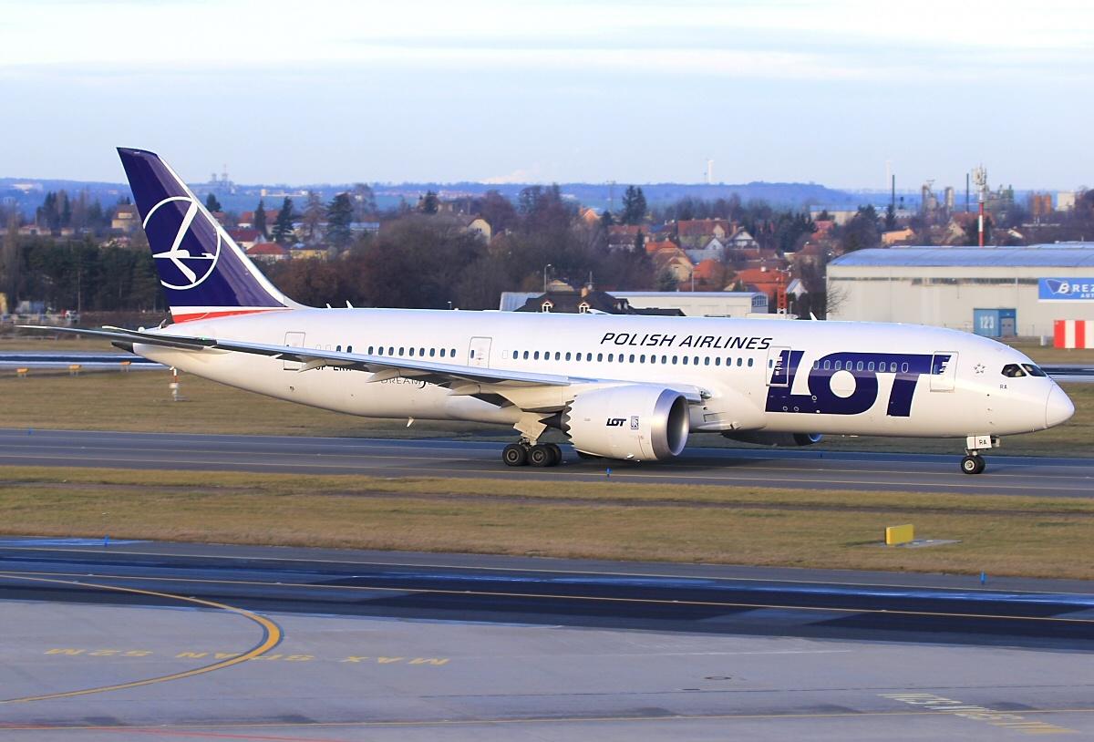 LOT-Dreamliner Boeing 787, Foto: Alan Lebeda, GFDL