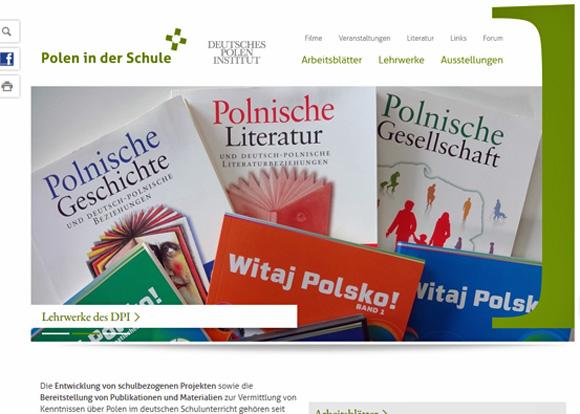 Neues Internetportal www.poleninderschule.de , Foto: screenshot