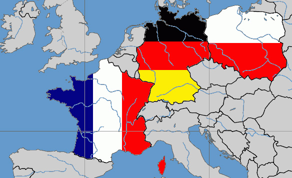 Länder des Weimarer Dreiecks, Foto: David Liuzzo, New European, GFDL