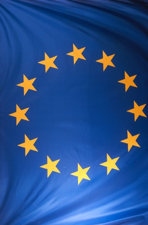 Flagge des EU-parlaments; Bild: © David De Lossy/Photodisc/Thinkstock