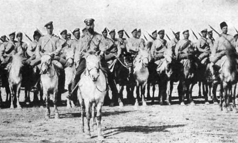 Russische Kosaken 1914, Foto: gemeinfrei