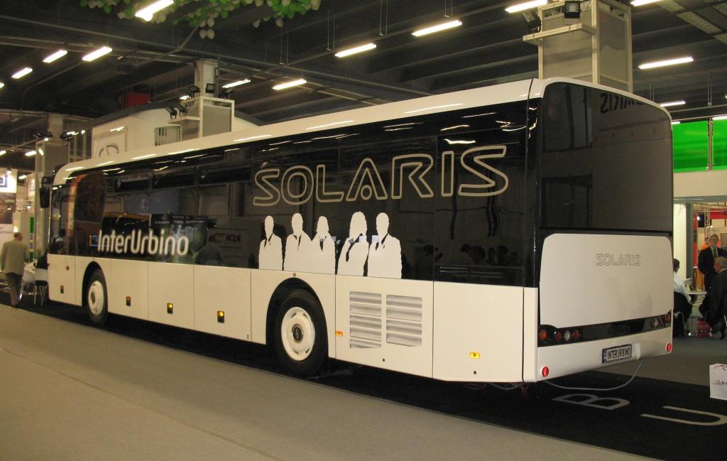Export-Schlager Solaris-Bus aus Polen, Foto: Lukas 3z, CC BY-SA 3.0