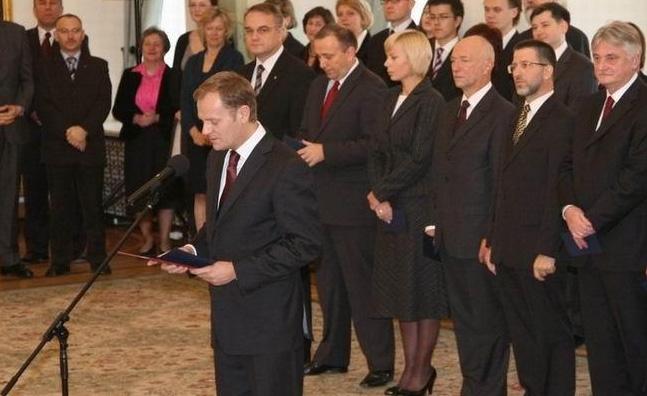 Das erste Kabinett Tusk, Foto: Archiwum Kancelarii Prezydenta RP, GFDL-1.2, GFDL-1.2, PolishPresidentCopyright
