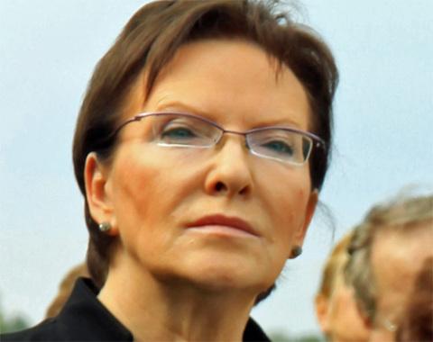 Polens Ministerpräsidentin Ewa Kopacz, Foto: Jaroslaw Roland Kruk / Wikipedia, licence: CC-BY-SA-3.0