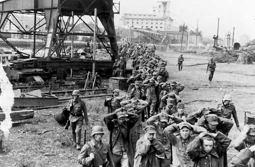Kapitulation auf der Westerplatte; Foto: public domain