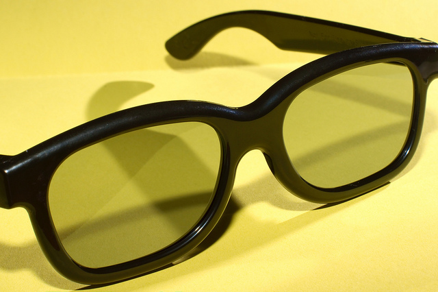 3D-Brille, Foto: Flickr Lunettes 3D Frederic Bisson CC BY 2.0