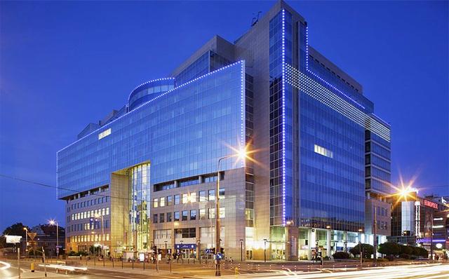 Gebäude der PKO-Bank in Warschau