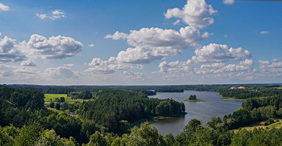 Polen vom Wasser aus entdecken