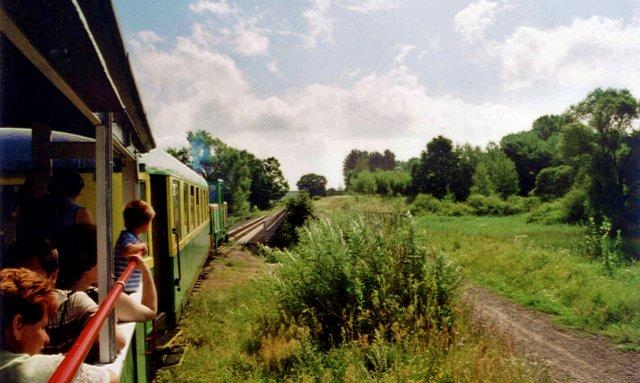 Die Kleinbahn in Lyck (E?k), Masuren