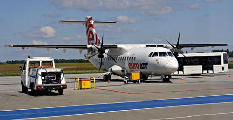 Bleiben künftig am Boden: Flieger der polnischen Eurolot