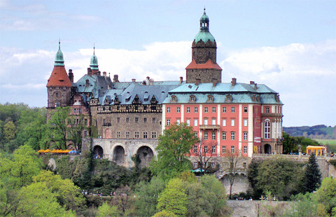 Schloss Fürstenstein (Kziaz), Niederschlesien