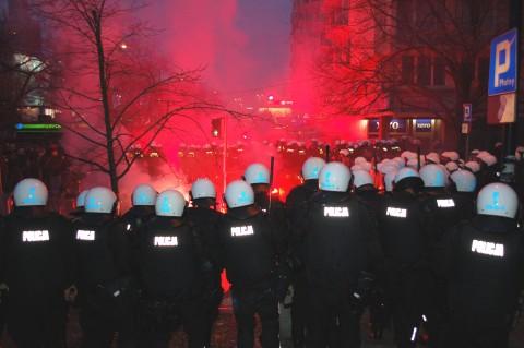 Krawalle beim Unabhängigkeitstag in Warschau, Foto, Wistula, CC BY-SA 3.0
