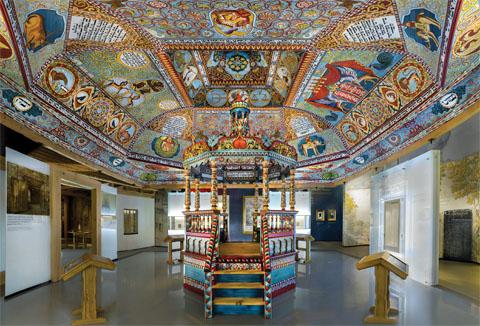 JuedMus2 Museum zur Geschichte der Juden Polens: Synagoge von Gwo?dziec , Foto: Muzeum Historii Zydow Polskich