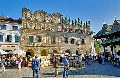 Marktplatz in Kazimierz Dolny, Foto:© Marek and Ewa Wojciechowscy / Trips over Poland / CC-BY-SA-3.0, 2.5, 2.0, 1.0 & GDFL