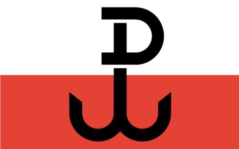 Flagge des polnischen Untergrundstaats Foto: Bastianow, CC BY-SA 2.5