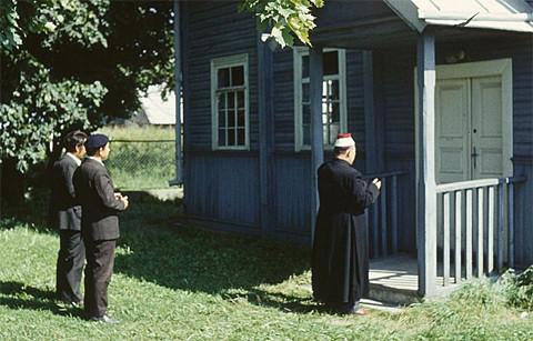 In der tatarischen Moschee Bohoniki, Foto: Yarl, CC-BY-SA-3.0