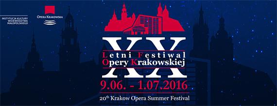 20. Opernfestival Krakau, Foto; Plakat, © http://www.opera.krakow.pl