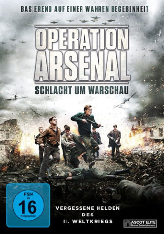 Operation Arsenal, polnisches Widerstandsdrama. Foto: Filmplakat, © Ascot Elite
