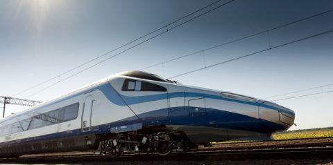 Polens Hochgeschwindigkeitszug Pendolino  Foto: © PKP Intercity
