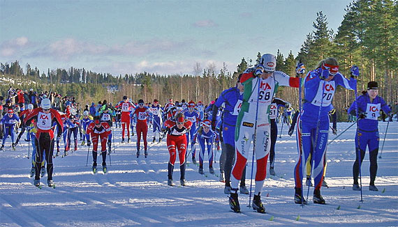 Piastenlauf, Skirennen der Worldloppet-Serie,