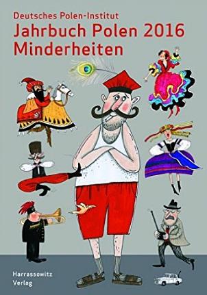 Jahrbuch Polen 2016 Minderheiten, Foto: Buchcover, www.harrassowitz.de
