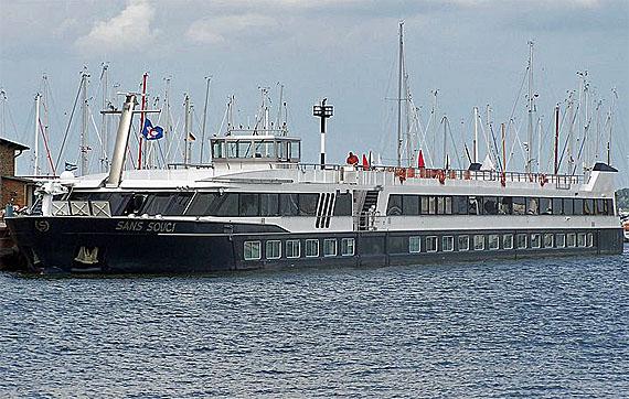 MS Sans Souci, Flusskreuzfahrt in Polen