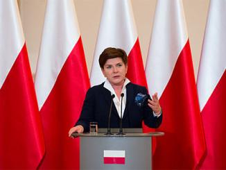 PolePolen Ministerpräsidentin Szydlo hatte einen Unfall, Foto: P. Tracz/ KPRM, CC00