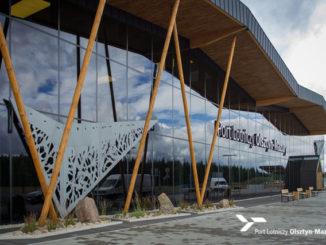 Terminal des Flughafens Olsztyn-Mazury, Foto: Presseinfo SZY