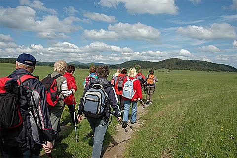 Wandern in Polen