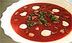 Rote-Beete-Suppe Barszcz Czerwony, Foto: Pille , CC BY 2.0