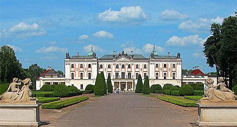 Das Branicki-Schloss in Bialystok