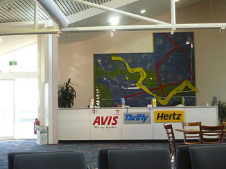Mietwagenstationen gibt es auch an kleinen Flughäfen Polens