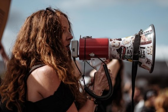 Demonstration Abtreibungsverbot