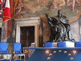 Im Saal der Kapitolinischen Museen von Rom wurde vor 60. Jahren die europäische Gemeinschaft begründet, Foto: CC BY-SA 3.0