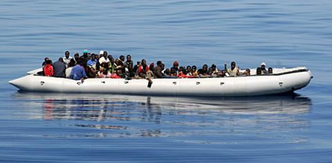 Flüchtlinge und der EU-Minimalkonsens, Foto: noborder network zodiac (flickr.com), CC BY 2.0