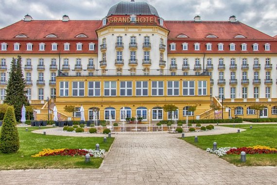 Grand Hotel Sopot, das einstige Kasinohotel Zoppot, Foto: pixabay.com/CC0