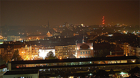 Katowice (Kattowitz) by Night, Foto: Halaston, CC BY-SA 3.0