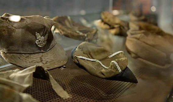 Persönliche Gegenstände der in Katyn Ermordeten, Katyn-Museum, Warschauer Zitadelle
