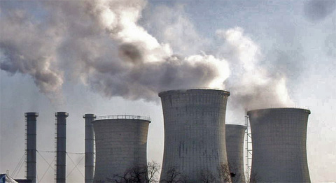 Kohlekraftwerk in Betrieb, Foto: Gabinho, CC BY 3.0