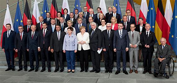 Deutsch-polnische Regierungskoalitionen, Foto: KPRM, public domain