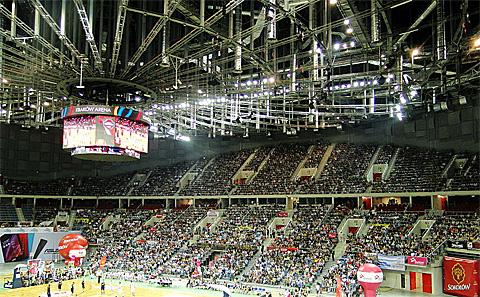 Die Arena in Krakow, Finalort der Handball-EM,Foto: Mateusz Gielczy?ski, CC BY-SA 3.0