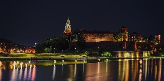 Krakau bei Nacht, Foto: pixabay,Mr. Inkognito